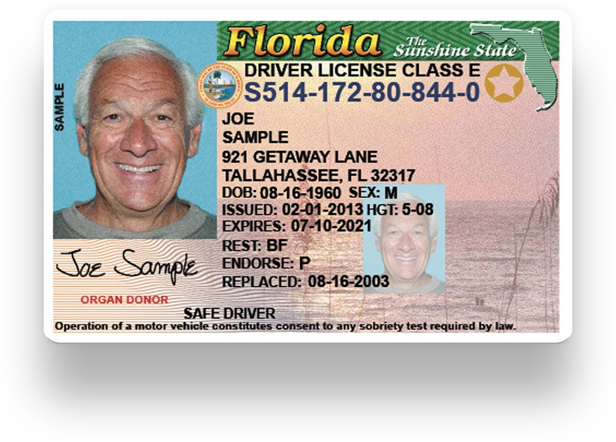 florida class e drivers license