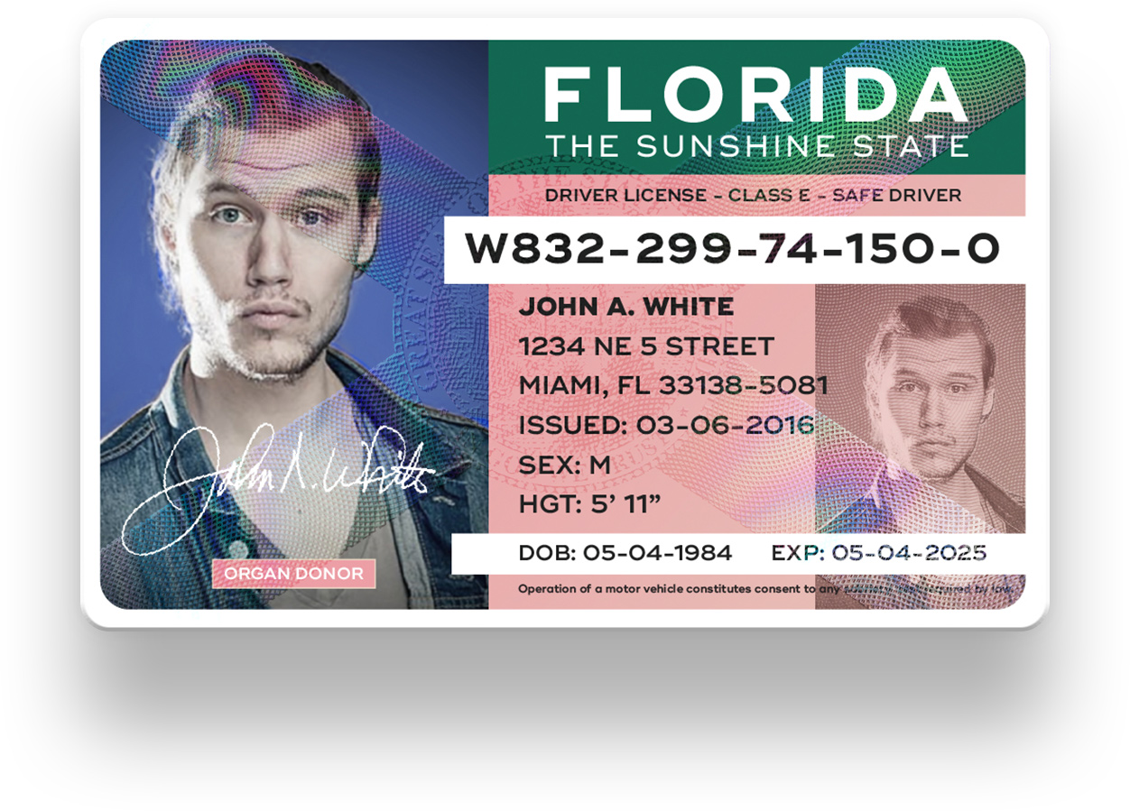 replace stolen florida drivers license