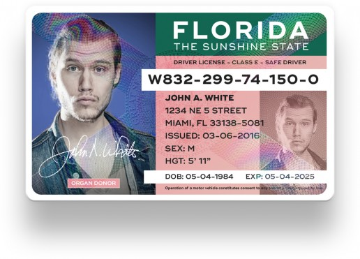 changing address on florida drivers license