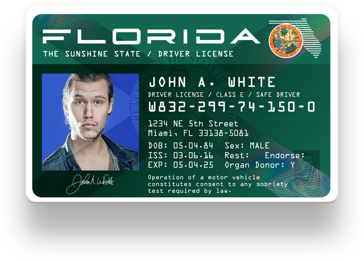 update florida drivers license address